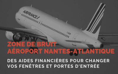 Zone de bruit aéroport Nantes Atlantique